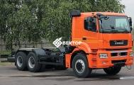 Шасси КамАЗ 6580-3051-68(T5)