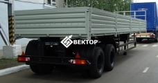 Бортовой полуприцеп НЕФАЗ 9334-0014120-01
