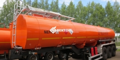Полуприцеп цистерна НЕФАЗ для перевозки нефти 96745-0312110