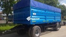 Прицеп бортовой-зерновоз НЕФАЗ 8332СХ-0140100-01