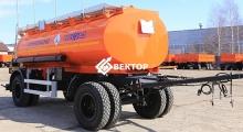 Прицеп цистерна НЕФАЗ под светлые нефтепродукты 8602-0002010/2011