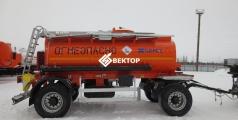 Прицеп цистерна НЕФАЗ под светлые нефтепродукты 8602-0002010-03/2011-03